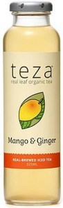 Teza Mango & Ginger Iced Tea 12x325ml