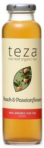 Teza Peach & Passionflower Iced Tea 12x325ml