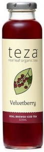 Teza Velvetberry Real Brewed Iced Tea 12x325ml