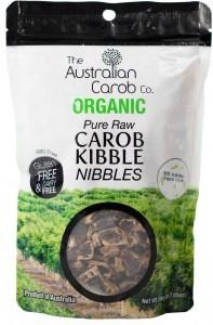 The Australian Carob Organic Carob Kibble Nibbles Raw 200g