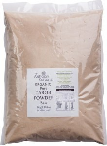 The Australian Carob Organic Carob Powder Raw 1Kg
