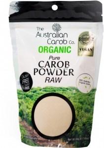 The Australian Carob Organic Carob Powder Raw 200g