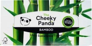 The Cheeky Panda Facial Tissue Flat Box 80 Sheets
