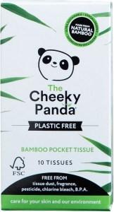 The Cheeky Panda Plastic Free Pocket Tissues 10 Tissues