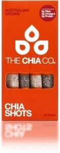 The Chia Co Chia Shots 10x8g pack
