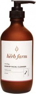 The Herb Farm Enriching Rosehip Facial Cleanser 200ml