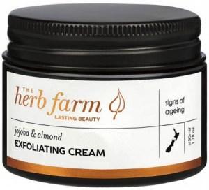 The Herb Farm Jojoba & Almond Exfoliating Cream 50ml
