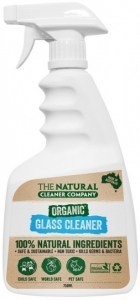 The Natural Cleaner Company Organic Glass Cleaner 750ml