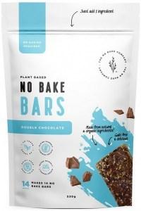 The No Bake Company Double Chocolate No Bake Bar Mixture  530g MAR22