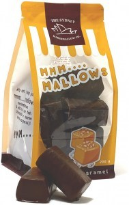 The Sydney Marshmallow Co Chocoalte Salted Caramel Marshmallow  200g