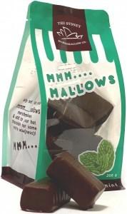 The Sydney Marshmallow Co Chocolate Mint Marshmallow  200g