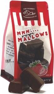 The Sydney Marshmallow Co Chocolate Strawberry Marshmallow  200g