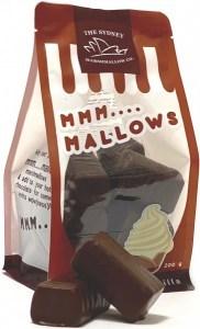 The Sydney Marshmallow Co Chocolate Vanilla Marshmallow  200g