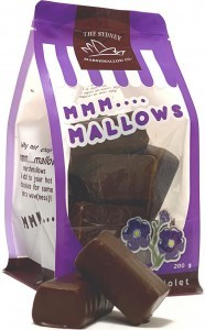 The Sydney Marshmallow Co Chocolate Violet Marshmallow G/F 200g