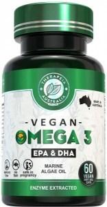 Therapeia Australia Omega 3 (Marine Algae Oil EPA & DHA) 60 caps