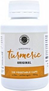 Therapeia Australia Organic Turmeric 700mg 120 caps