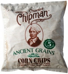 Thomas Chipman Ancient Grain Corn Chips  200g
