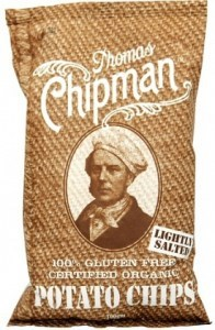 Thomas Chipman Lightly Salt Potato Chips 100g