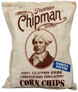 Thomas Chipman Low Salt Corn Chips  230g