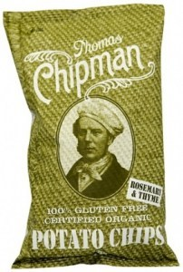 Thomas Chipman Rosemary&Thyme Potato Chips 100g