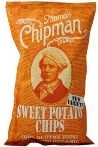 Thomas Chipman Sweet Potato Chips  75g