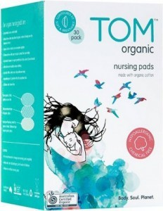 TOM Organic Nursing Pads 30Pk