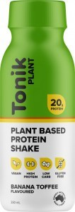 Tonik Plant Protein Drink Banana Toffee  330ml