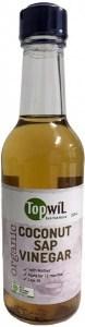 TopwiL Organic Coconut Sap Vinegar 250mL
