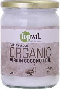 TopwiL Purified Deodorized Organic Coconut Oil 500ml
