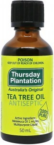 Thursday Plantation Tea Tree 100% Pure Oil 50ml