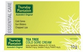 Thursday Plantation Tea Tree Cold Sore Cream 10gm
