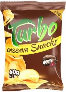 Turbo Snacks Cassava Chilli  60g