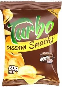 Turbo Snacks Cassava Garlic  60g