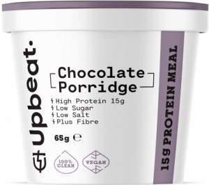 Upbeat Chocolate Porridge Protein Ready Meal 65g