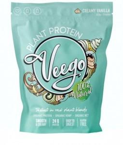 Veego Plant Protein Powder- Creamy Vanilla  1.12kg - 28 Serves