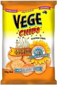 Vege Chips BBQ  12x50g