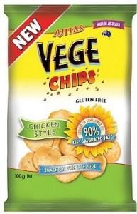 Vege Chips Chicken Style 6x100g