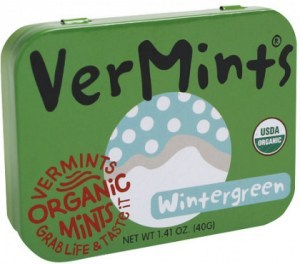 Vermints Wintergreen Organic Mints 40g