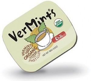 Vermints Chai Organic Pastilles 40g