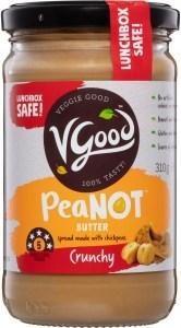 VGood PeaNOT Butter Crunchy G/F 310g