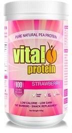Vital Pea Protein Isolate Strawberry 500g
