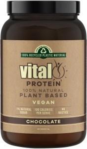 Vital Protein Natural Pea Protein Chocolate Powder 1Kg