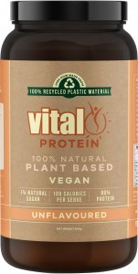 Vital Protein Pure Natural Pea Protein Unflavoured Powder 500g