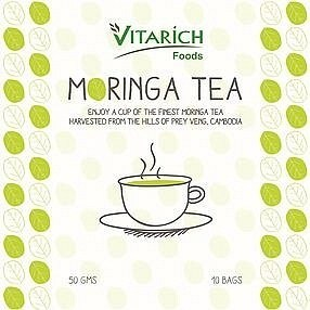 Vitarich Foods Moringa 25 Teabags