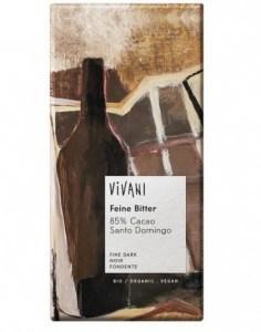 Vivani 85% Cacao Organic Dark Chocolate 100g