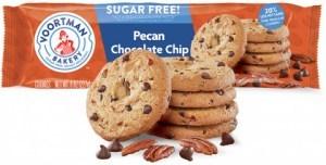 Voortman Sugar Free Pecan Chocolate Chip Cookies 227g JUL21