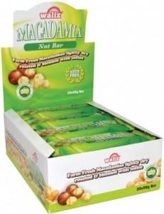 Waliz Macadamia Nut Bar  20x50g