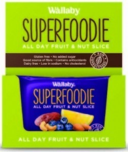 Wallaby Superfoodie Blueberry Lemon Slice 8x48g
