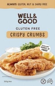 Well And Good Crispy Crumbs 300g