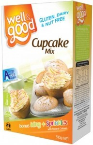 Well And Good Cup Cake Mix 510g